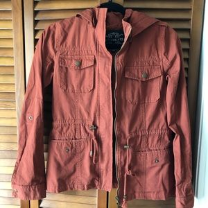 ROOLEE Utility Jacket in Rust